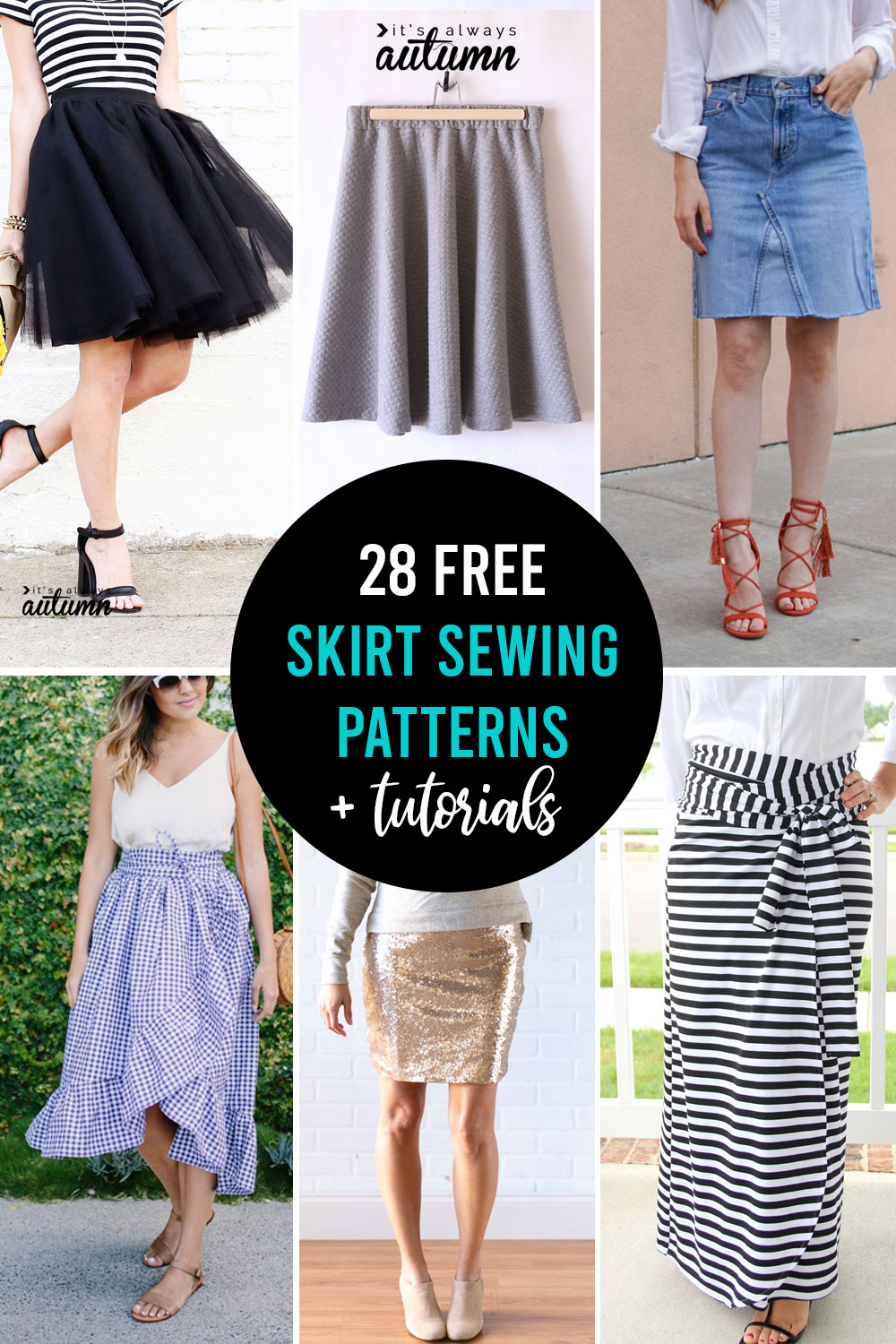 How To Make A Skirt 28 Free Skirt Patterns It S Always Autumn